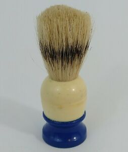 "Vintage ""Ever-Ready Sterilized 89"" Blue and Cream Handle Shaving Brush"