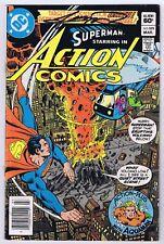 Action Comics #529 Good Signed w/COA George Perez 1982 DC Comics Bronze PWC