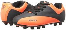 NEW Vizari Vigo FG Toddler Soccer Cleats Black/Orange Size 3