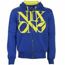 Nixon Philly Zip Hood Hoody (M) Royal Lime