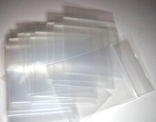 200 pezzi-zip sacchetto PET 55 x 65 mm EXTRA DICK 90µ BUSTINA druckverschluß