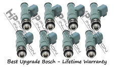 Rebuilt Genuine Bosch 4 Hole Best Upgrade Fuel Injector Set Ford Plug & Play