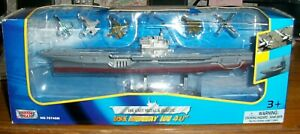 2013 Motor Max Die Cast USS Midway With Planes NIB NR