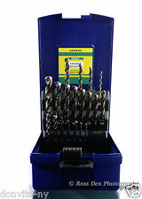 Gekkou Bic Tool Metric 19 Pc Cobalt Drill Bit Set Stainless Steel Made in Japan