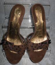 Kitten Heel Suede Casual Sandals & Beach Shoes for Women