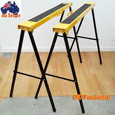 Folding Work Platform Bench Aluminium Painting Dry Wall Ladder Trolley Creeper