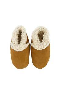 KINA Wool Baby Booties Slipper New Zealand Lambskin Soft Plush - NEW
