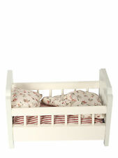 Maileg miniature-meubles en bois pour lit bébé avec literie pour micro lapins et souris