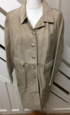 Marks & Spencer Ladies Suede Coat Winter Jacket Coat Size 18 UK