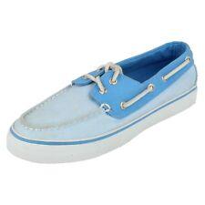 Sperry Bahama 2 Eye Denim Zapatos del Barco de la Mujer -Blue-35.5 WhgUXeU
