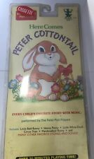 Peter Cottontail Cassette Tape New Old Stock Factory Sealed