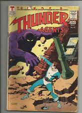 THUNDER AGENTS  #10 VG- VERY GOOD- OW/WHITE PAGES SILVER AGE TOWER COMIC 1966