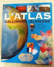 L'Atlas Gallimard Jeunesse - Type : Relié Nombre de pages : 160