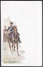MILITARE MILITAIRE MILITARY FRANCE 08 MARECHAL BATTERIES A CHEVAL - CPA 1900 ca