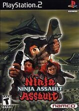 Ninja Assault (Sony PlayStation 2, 2002) Game Only, with jewel case and manual