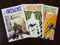EXCELLENCE Issues 1-3; 1st Print; NM Condition; 2019 Image Skybound Comics