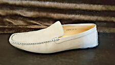 Franco Vanucci Men's Slip On Loafer Dress Shoes Size 13 Tan