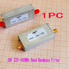320~400Mhz Uhf Band Bandpass Filter Metal Sma Interface