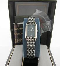 Citizen Ladies Model EW8082-59D Stainless Steel Watch Original Vintage Box