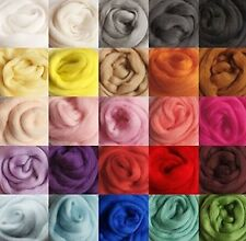 DOD-LIFE 36 colors Merino Wool Fibre Roving For Needle Felting Hand Spinning ...