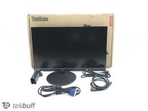 "Lenovo ThinkVision S24e-10 23.8""  HD LED Backlit Monitor - 61CAKCR1US"