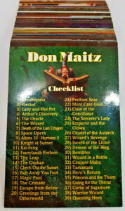 1994 - Don Maitz - FPG - Fantasy Art - FULL BASE SET - Great Condition!