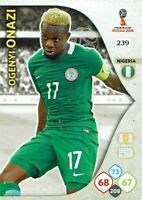 Panini Adrenalyn XL World Cup 2018 Russie Coupe Du Monde Numéro 239 Ogenyi Onazi