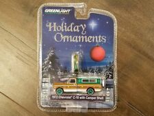 Greenlight 1/64 Holiday Ornaments 1972 Chevrolet C-10 W Camper Shell 37120 Chase