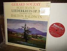 SCHUMANN: Liederkreis & Lieder > Souzay Baldwin /Philips Hi-Fi stereo Holland NM