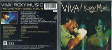 CD ROXY MUSIC VIVA THE LIVE ALBUM 1989 EG REPRISE 9 26044-2