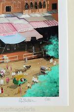 tableau Inde lot Jaipur décoration ambiance prêt à encadrer 60cm Neuf