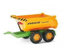 Rolly Toys Anhänger Halfpipe Kipper Joskin Tandemachser 122264