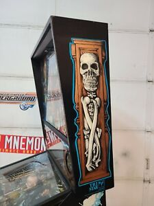 Sega Mary Shelley Frankenstein  pinball machine