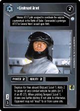 ++ Lieutenant Arnet ++Star Wars CCG - Endor - SWCCG Decipher