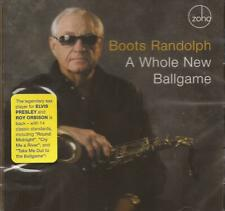 Boots Randolph - A Whole New Ballgame (CD 2007) NEW/SEALED