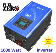 1000W / 3000 Watt Pure Sine Inverter 12v 120v Built-In AC and Solar MPPT Charger