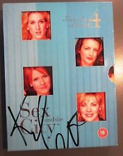 KIM CATTRALL Autograph. SIGNED DVD 'SEX AND THE CITY' Season 4