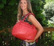 Kate Spade NY Westbury Drawstring Opus POPPY RED Shoulder Handbag Retail $398