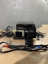 Sony Cybershot DSC-W150 8.1MP Digital Camera With Bonus Kit - TV Dock - Gold