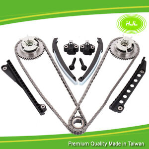 Timing Chain Kit+2 Pcs CAM PHASERS FORD FAIRMONT FALCON BA BF BARRA 220 3V 5.4L