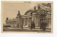 CPA 75 PARIS grand palais offert par hémoglobine deschiens