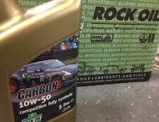 Rock Oil Carbono 10w50 Competition Totalmente Sintético Aceite Motor 5L Spoox
