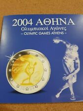 Greece 2004 euro 'Olympic games' coin set