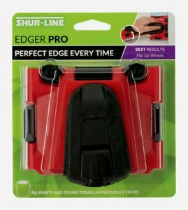 Shur-Line Paint EDGER PRO For Flat Surfaces Walls Floors Straight Line 2008145
