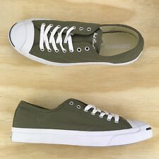 2c322c6837be Converse Jack Purcell Signature Pro Ox Green White Low Top  157785C  Size 9