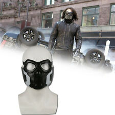Avengers Winter Soldier Bucky Cosplay Pvc Mask Eyes Halloween Masquerade Props