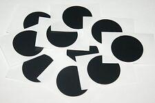 10 x NFC Tag Sticker MIFARE Classic® Chip - 30mm Aufkleber rund schwarz - 1k