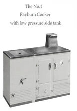 Manual for No.1 Rayburn cooker, instructions, installation & part Nos, 26 pages.