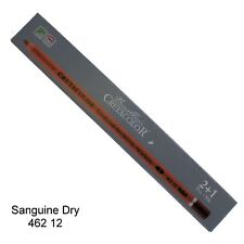 Creatacolor Sanguine Dry Pencil Soft 3pk red/brown colour pencil medium