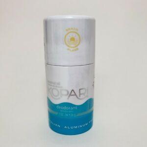 KOPARI Coconut Oil Deodorant Fragrance Free .9 oz/ 26 g Travel Size NEW